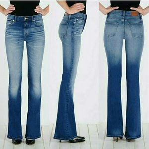 Henry & Belle high waisted flare jeans tall 26